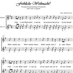 Fröhliche Weihnacht a cappella